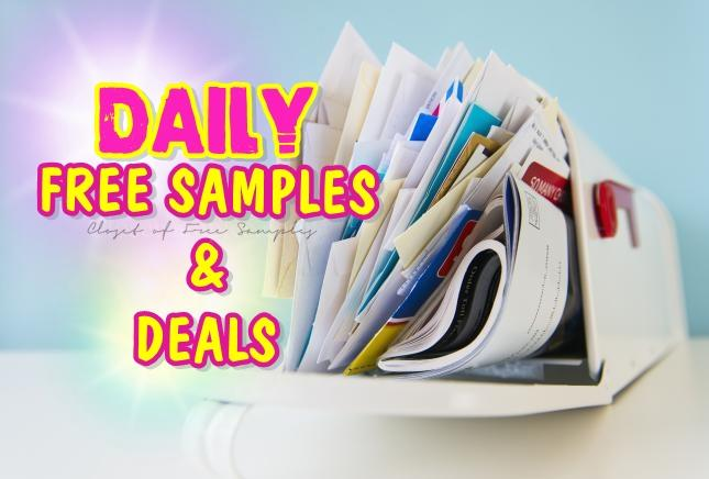 free samples and deals