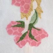 Floral Fairies Applique Block 2