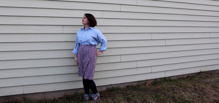 Modest Fashion - Boots and a Skirt
