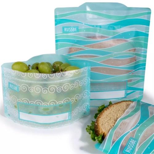 Medium Of Reusable Snack Bags
