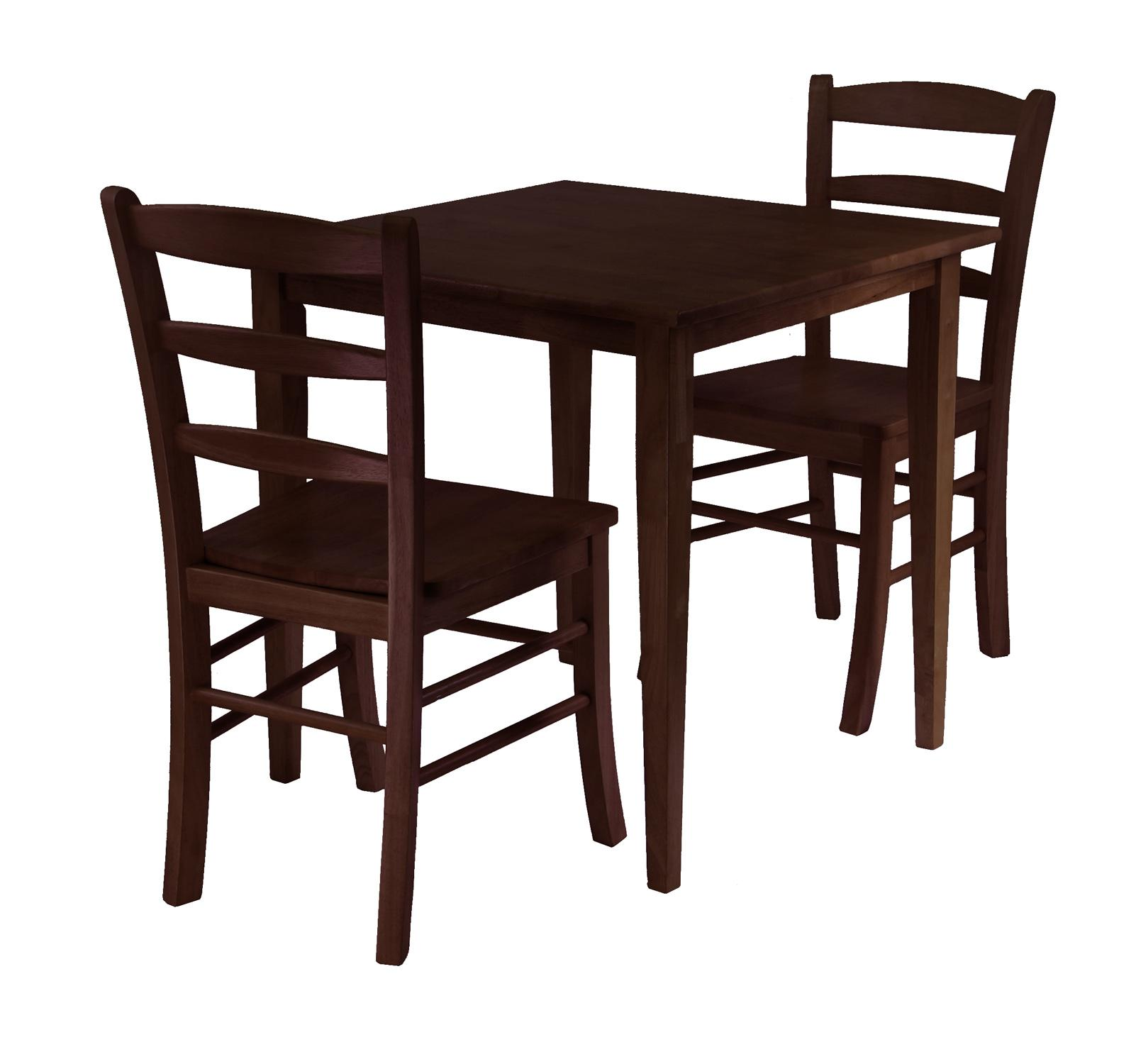 groveland chairs small kitchen table set Groveland 3pc Square Dining Table with 2 Chairs