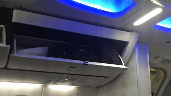 Overhead Bins: Assist Mechanism