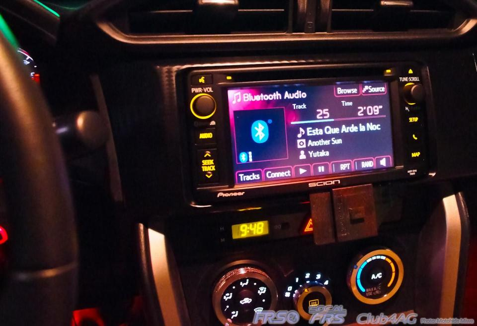Toyota Dealership Las Vegas >> 2014 Scion Display Radio and the brand new updated BeSpoke module greatly improves the cabin ...