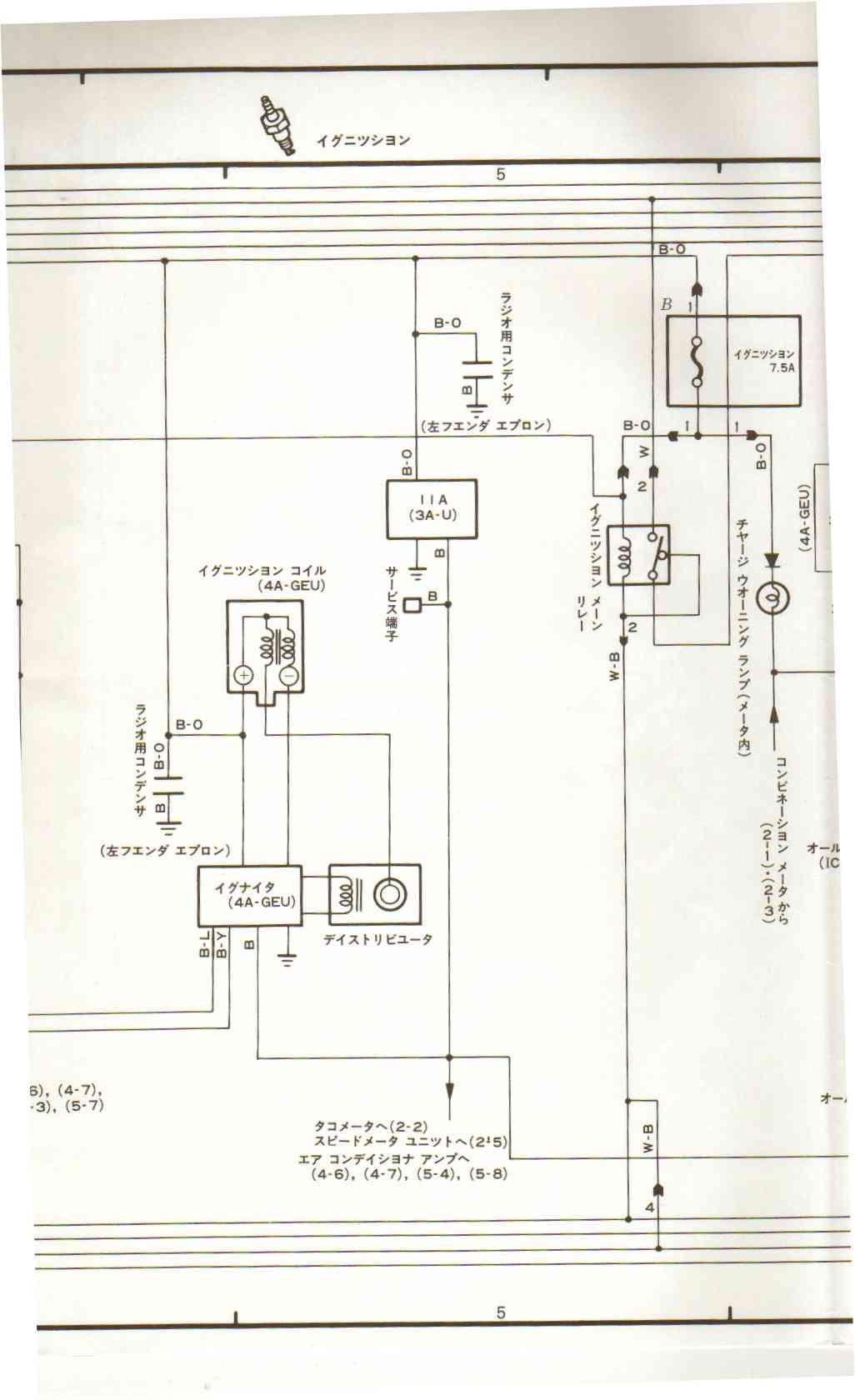 Ae86 Wiring Diagram : Club ag a ge v japan ae ecu pin identification
