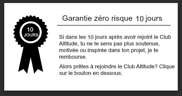Garantie 10 J