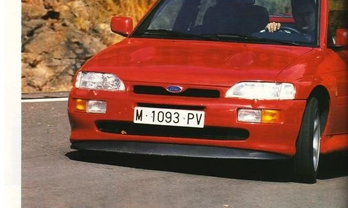 Prueba Ford Escort RS Cosworth