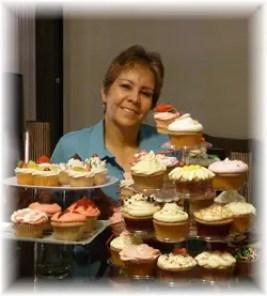 Cupcakes por Rosa Quintero