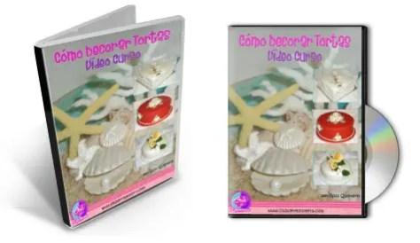 """Video curso """"Cómo Decorar Tortas"""" en DVD - Rosa Quintero"""