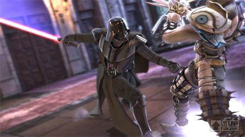 IMAGE: Vader in Soul Caliber IV