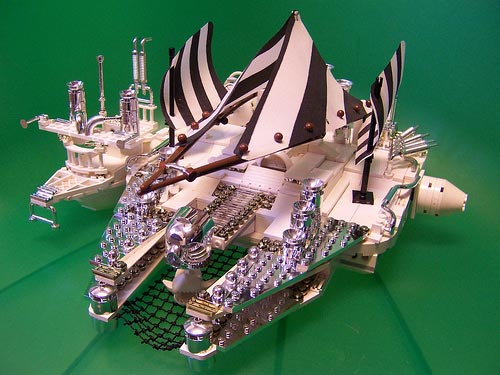 Turn of the Century Falcon by Monsterbrick @ Flickr