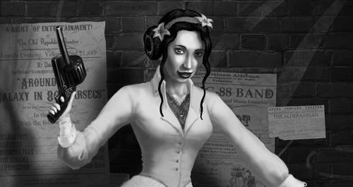 IMAGE: Eric Poulton's Steampunk Leia