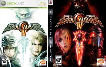 IMAGE: Soul Calibur IV box art