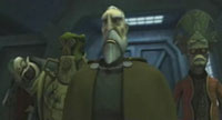 THE CLONE WARS: Dooku and pals
