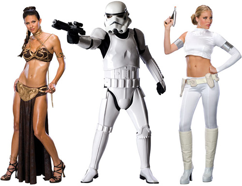 SW Halloween Costumes from StarWarsShop.com