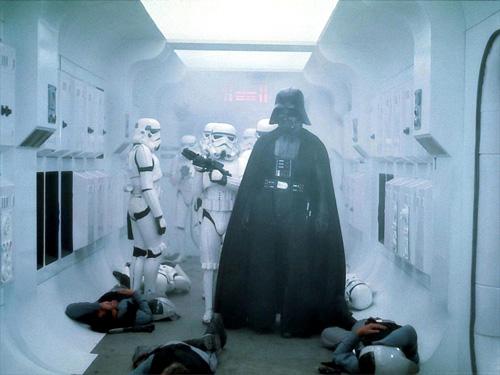 ANH: Vader\'s entrance