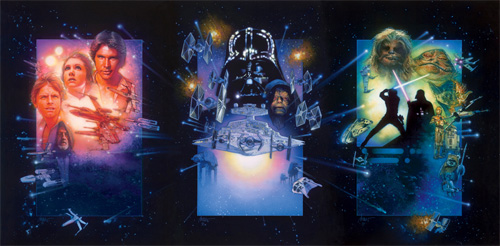 Star Wars Special Edition posters by Drew Struzan