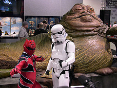 'Strike a pose with Jabba' by kbaird @ Flickr