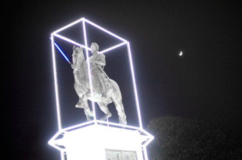 Henri IV remix by Jean-Charles de Castelbajac / Photo by Highsnobiety.com