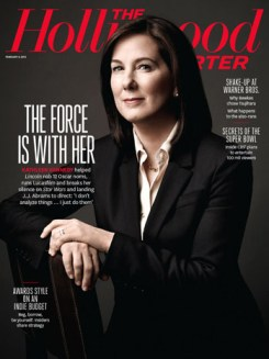 Kathleen Kennedy on the cover of The Hollywood Reporter