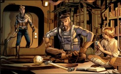 The Star Wars comic - preview detail Rinzler Mayhew