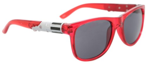 Lightsaber sunglasses (Red)