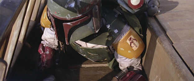 Boba Fett, moments before going out like a chump