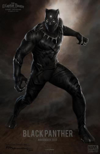 Black Panther concept art (Marvel)