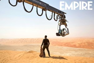 Filming The Force Awakens (Empire #3)