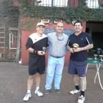 Tenis: Arrate, Mas y Nuñez ganadores de la 5° Fecha del Abierto del Cub Neptunia