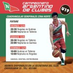 BASQUET: U19 en Semifinales del Campeonato Argentino de Clubes.