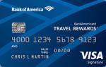 BankAmericard Travel Rewards
