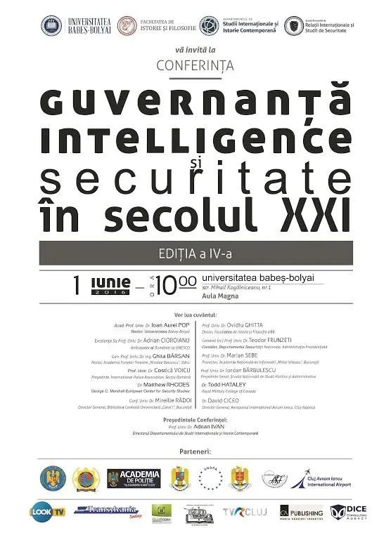 Guvernanță, Intelligence și Securitate în secolul XXI