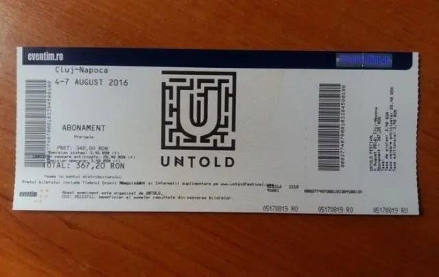 bilet untold
