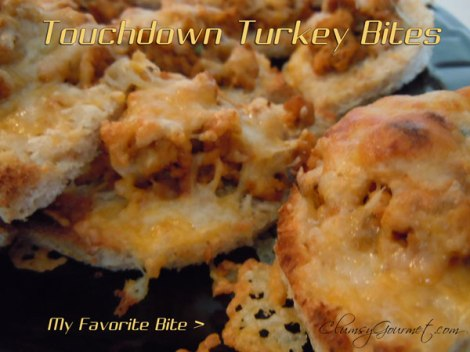 Touchdown Turkey Bites Easy Recipe