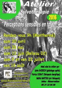 atelier forêt 2016
