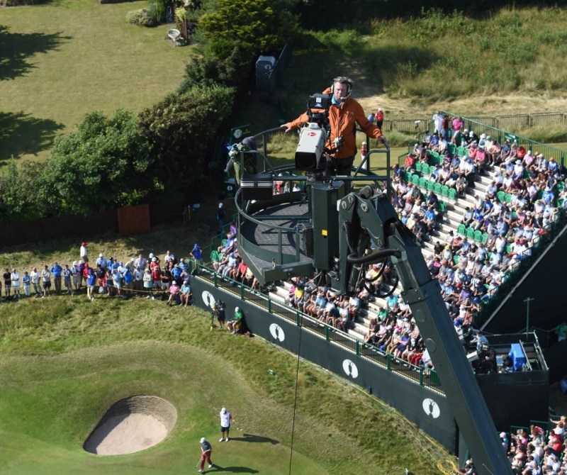 during the final round of The 143rd Open Championship at Royal Liverpool on July 20, 2014 in Hoylake, England.