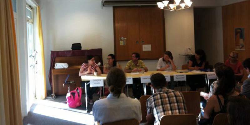 En Ginebra : Reunión con el Comité sobre Desaparición Forzada