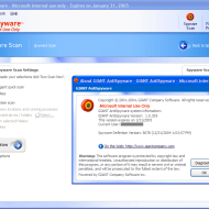 Giant AntiSpyware immediately after being acquired by Microsoft (image from Paul Thurrott's review in 2004).