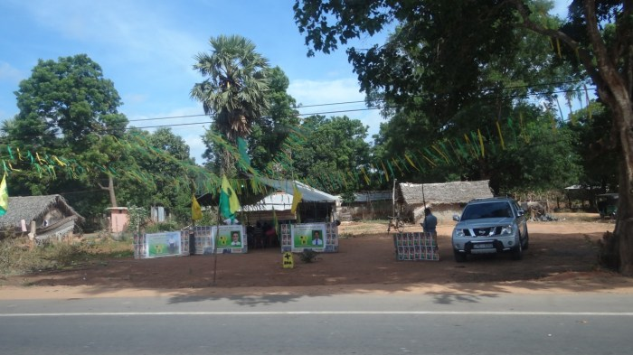 Sri Lanka Muslim Congress meeting held at Mulliyawalai on 19 Sep 2013.