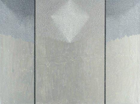 Sospensione: acrilico injection painting su tela 2006 - 60x80cm