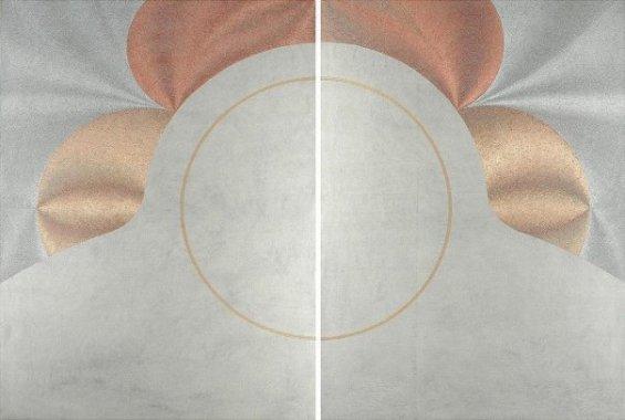 Stasi: acrilico - injection painting su tela 2008 - 100x140 cm
