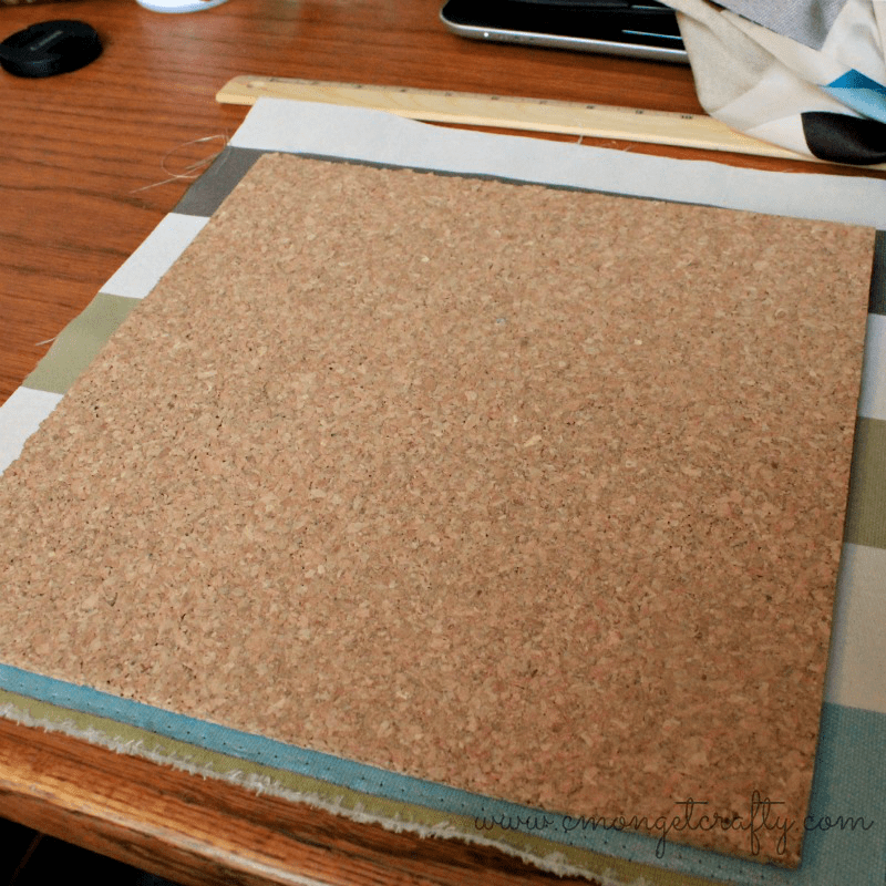 Corkboard Picture Frame