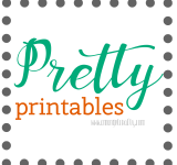 Blog Organization in  2016: Pretty Printables