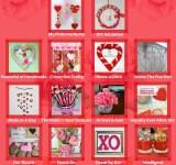 DIY Valentine's Photo Backdrop
