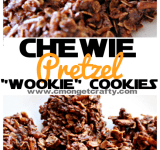 "Star Wars Inspired No Bake ""Wookie Cookies"""