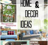 Thrifty Home and Decor Ideas