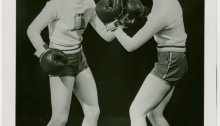 women boxing.nypl