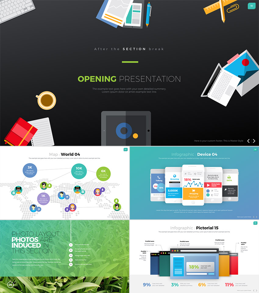 25 Awesome Powerpoint Templates With Cool Ppt Designs Healthcare Editable Wire Connections Slides Digit One Stop Business Design