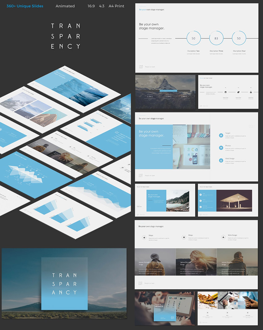 25 Awesome Powerpoint Templates With Cool Ppt Designs Healthcare Editable Wire Connections Slides Transparency Template