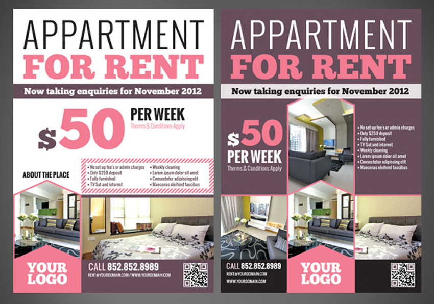 Room For Rent Flyers Ibovnathandedecker